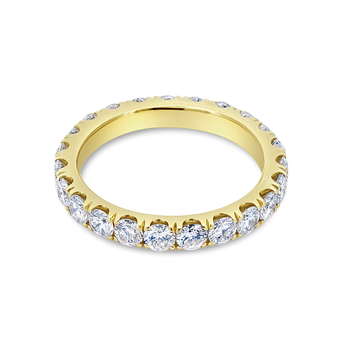 Round Diamond Band - Pasha Fine Jewelry
