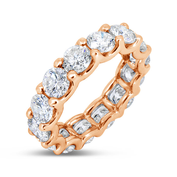 Royal Shared Prong Diamond Band