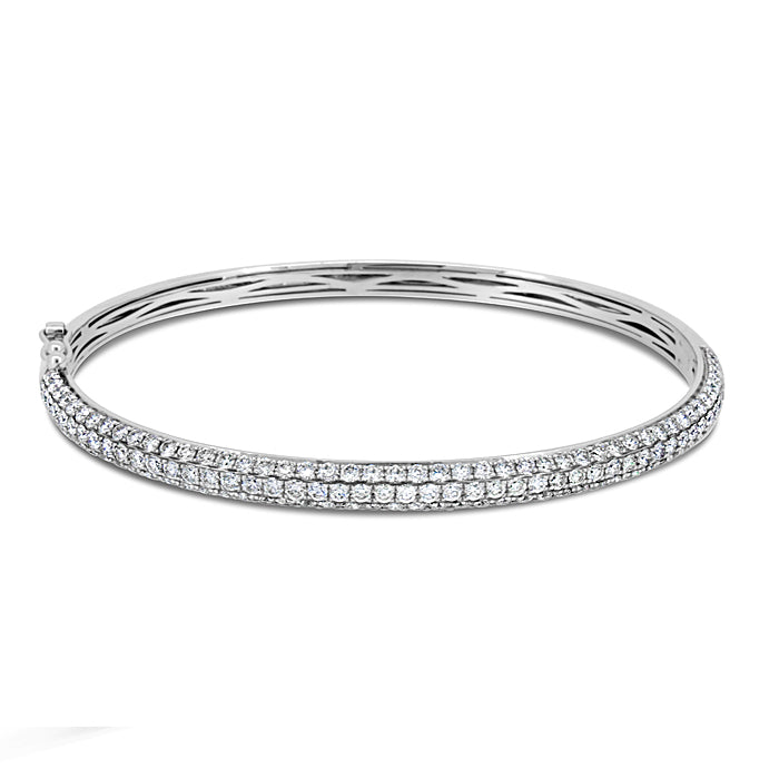 Stackable Pave Diamond