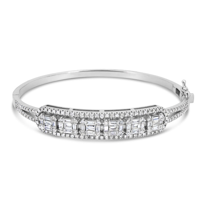 6 Diamonds Bangle