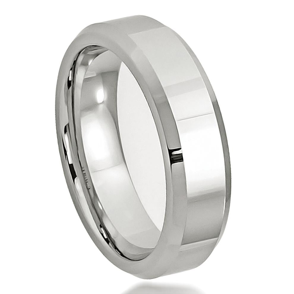 High Polished Beveled Edge - Pasha Fine Jewelry