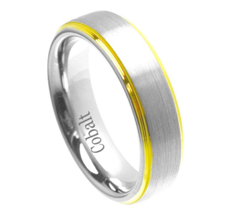 Two Tone Band - Pasha Fine Jewelry