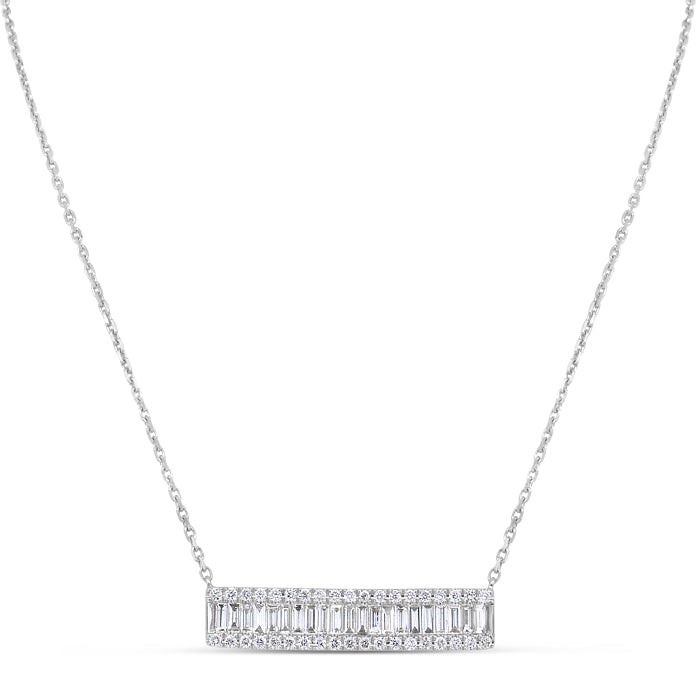 Rectangle Stardust Necklace - Pasha Fine Jewelry