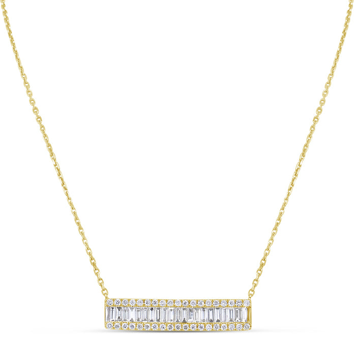 Rectangle Stardust Necklace