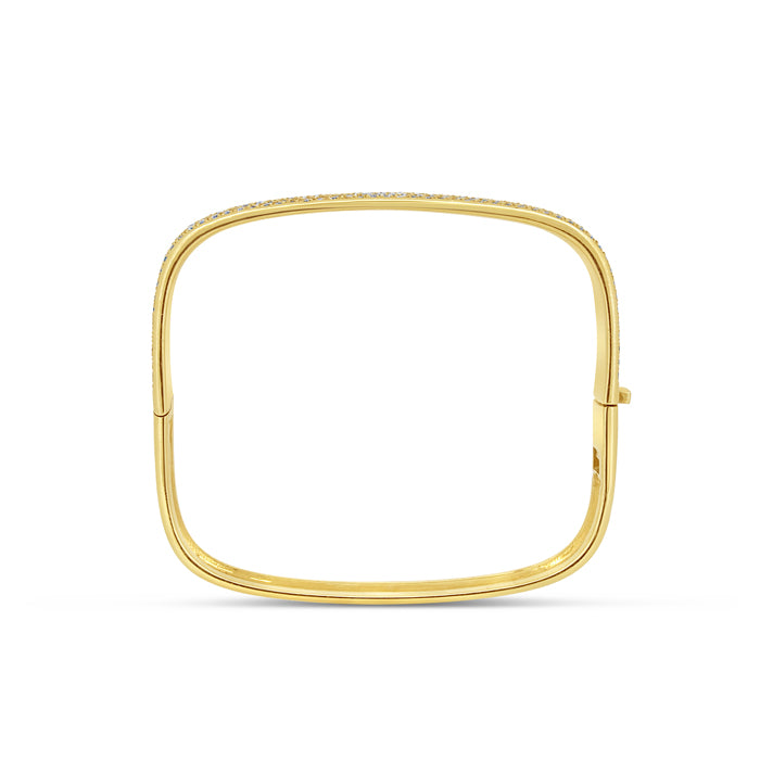 Square Shape Bangle - Pasha Fine Jewelry
