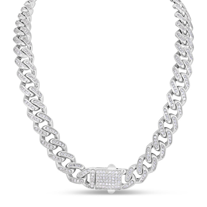 Diamond Chain Link Necklace