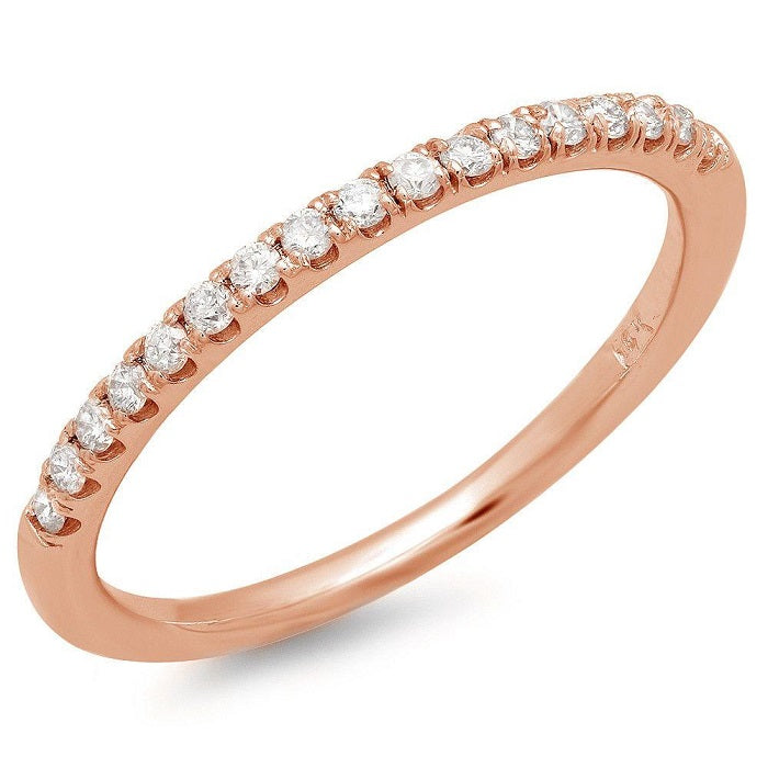 Single Row U-Pave - Pasha Fine Jewelry