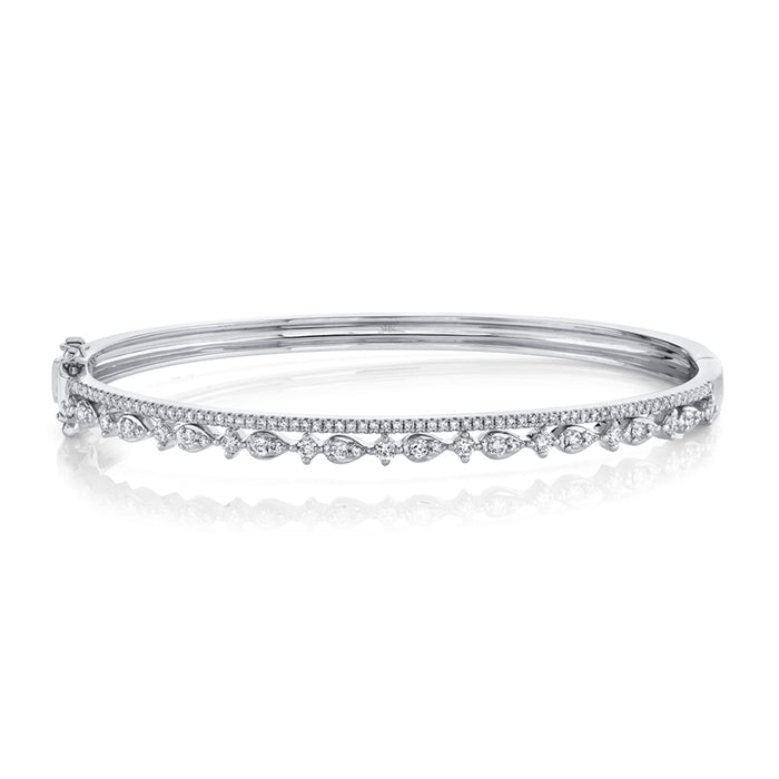 2 Row Bangle - Pasha Fine Jewelry