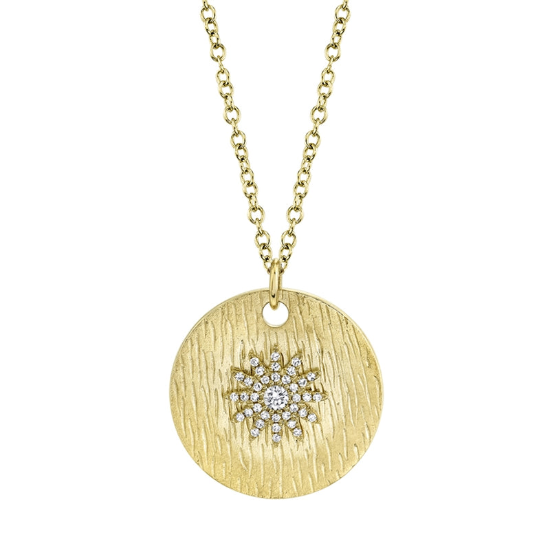 Sun Medallion - Pasha Fine Jewelry
