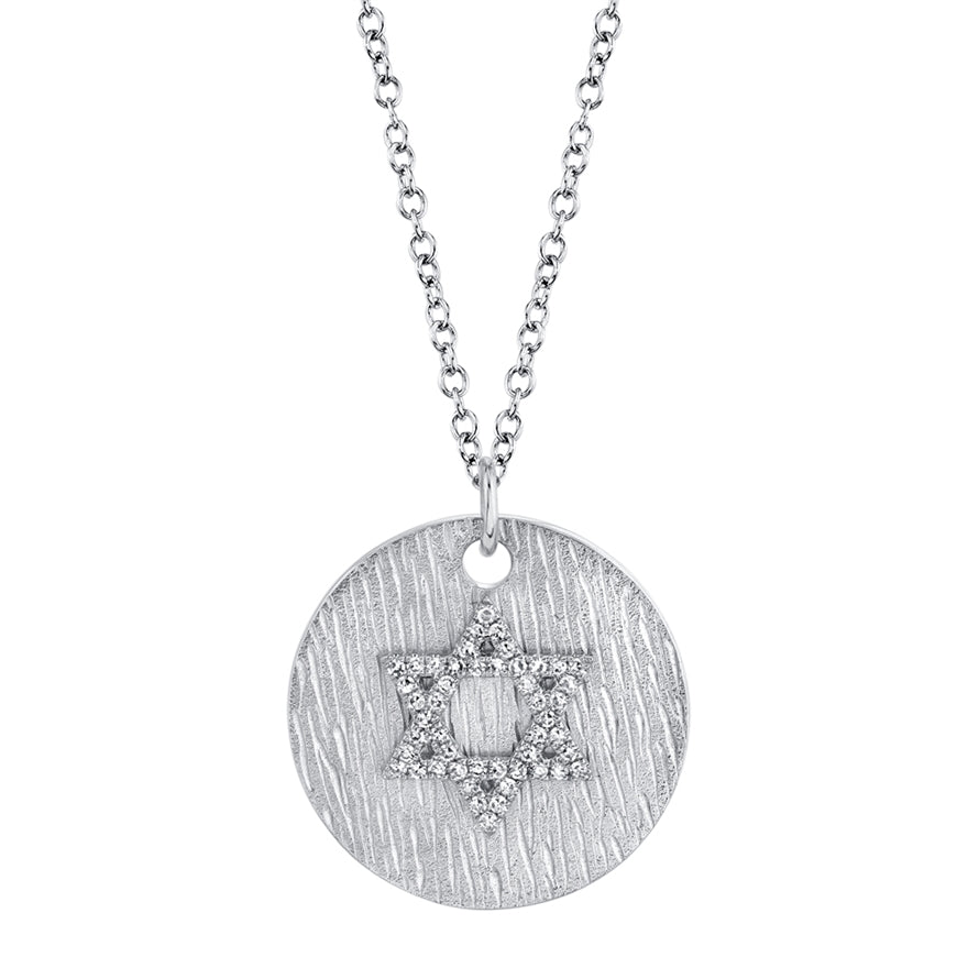 Star of David Medallion - Pasha Fine Jewelry