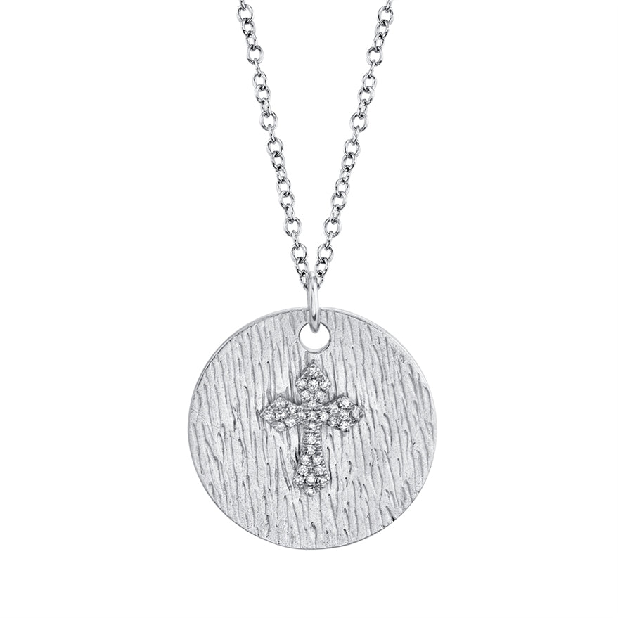 Cross Medallion - Pasha Fine Jewelry