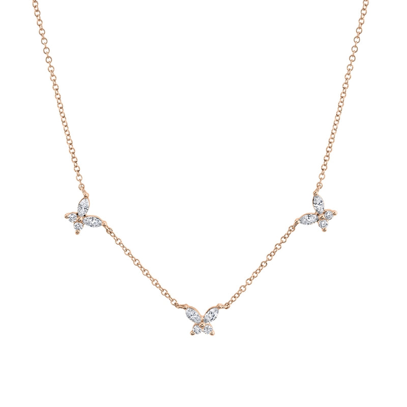 Butterfly Necklace - Pasha Fine Jewelry