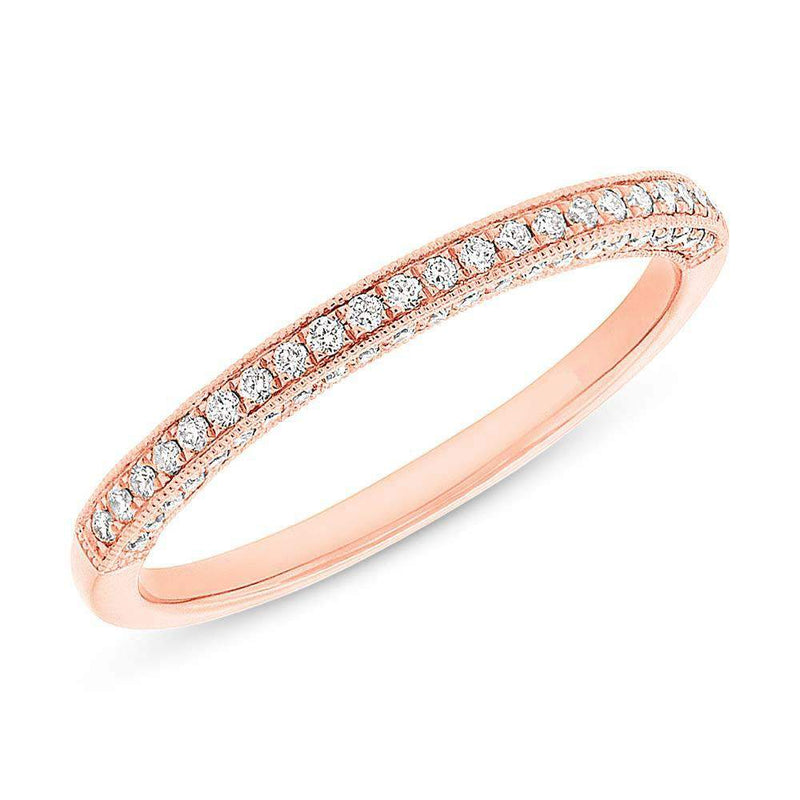 3 Sided Pave Band