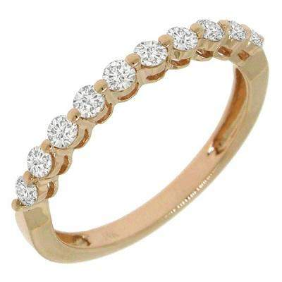 Single Prong Band - Pasha Fine Jewelry