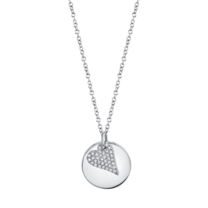 Heart Medallion - Pasha Fine Jewelry