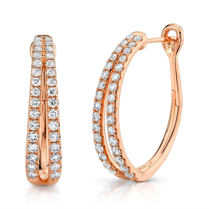 Oval Hoops - Pasha Fine Jewelry