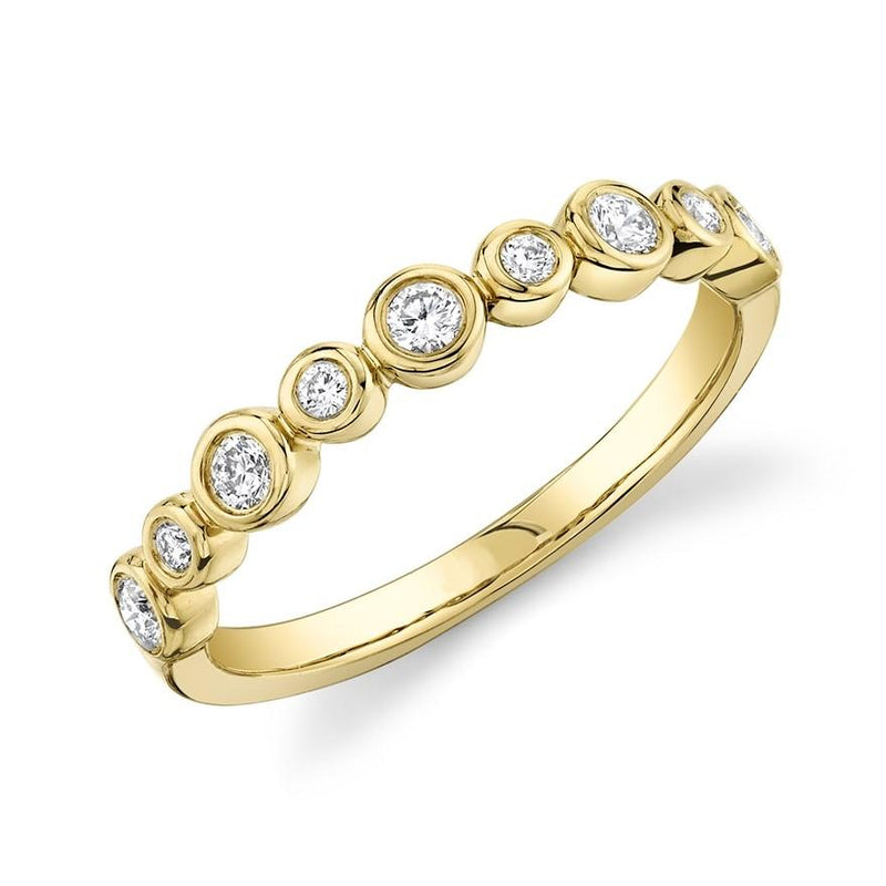 Bezel Band - Pasha Fine Jewelry