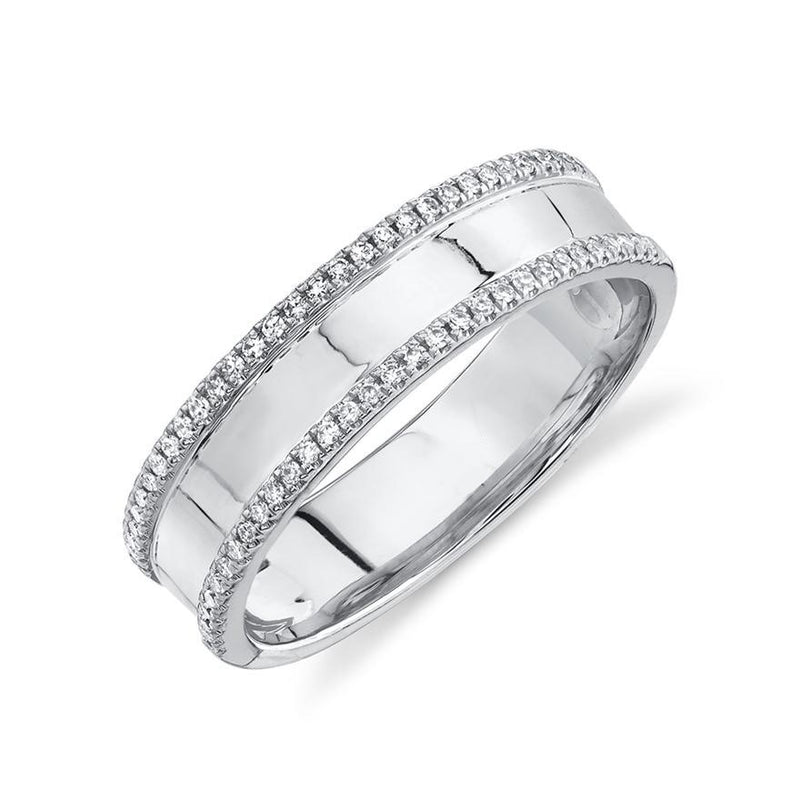 2 Row Band - Pasha Fine Jewelry