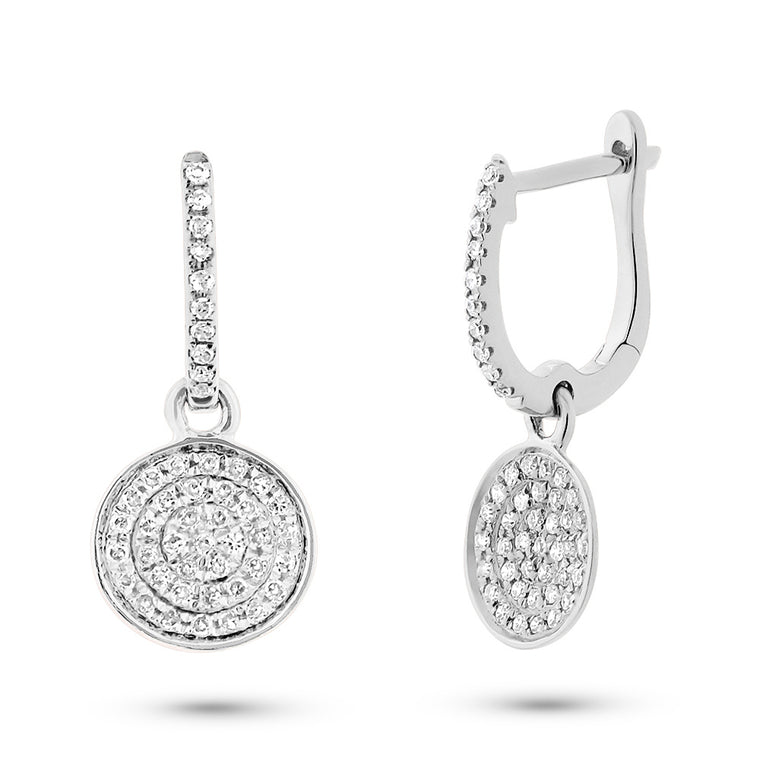 Pave Dangling Earring