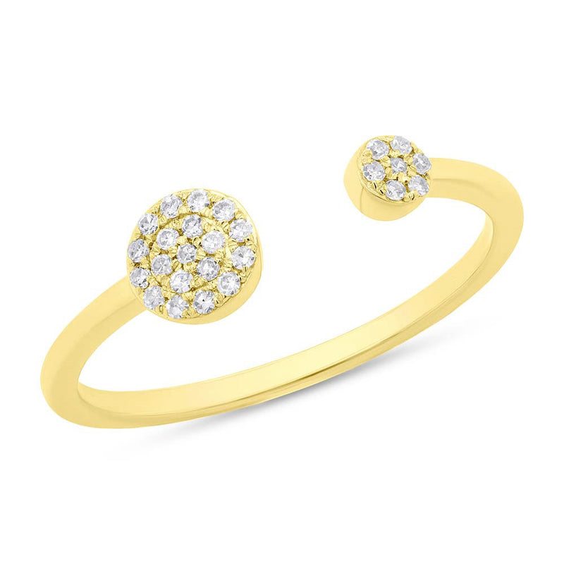 Double Circle Ring - Pasha Fine Jewelry