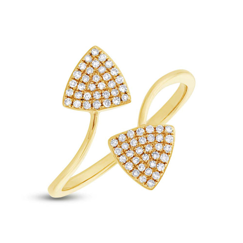 Double Triangle Ring - Pasha Fine Jewelry