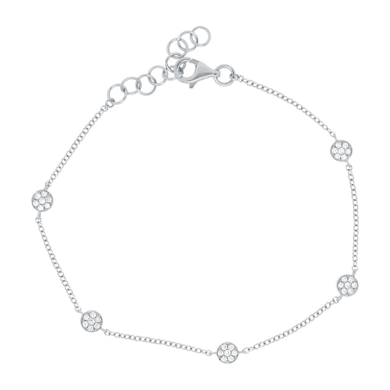 Pave Circle - Pasha Fine Jewelry