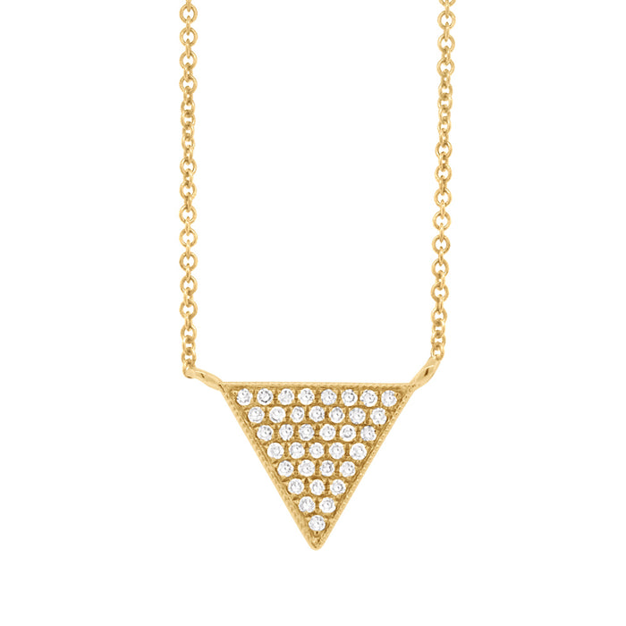 Pave Triangle - Pasha Fine Jewelry
