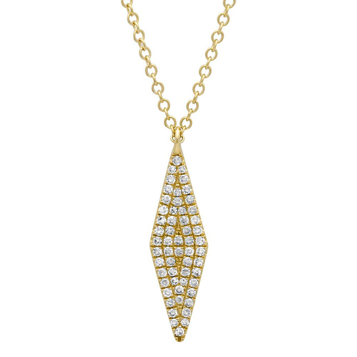 Pave Necklace - Pasha Fine Jewelry