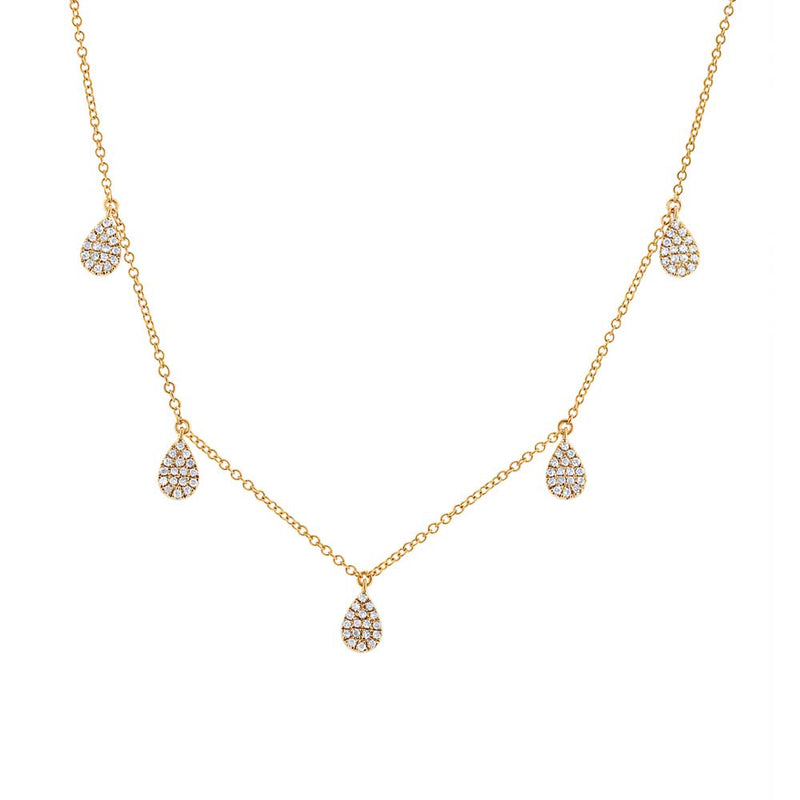 Teardrop Necklace - Pasha Fine Jewelry
