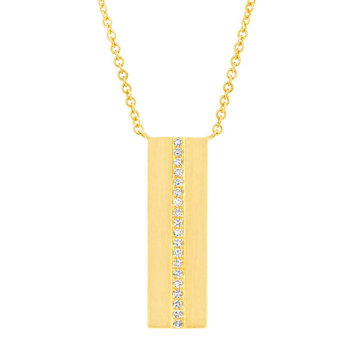 Bar Necklace - Pasha Fine Jewelry