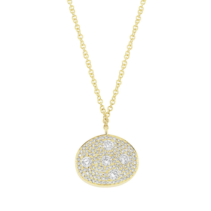 Oval Necklace - Pasha Fine Jewelry