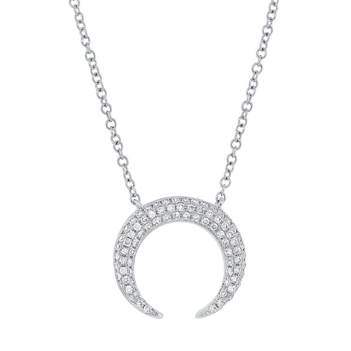 Crescent Necklace - Pasha Fine Jewelry