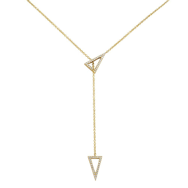 Triangle Lariat - Pasha Fine Jewelry