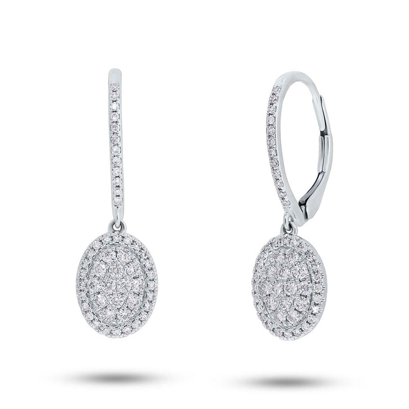 Oval Cluster Earrings - Pasha Fine Jewelry