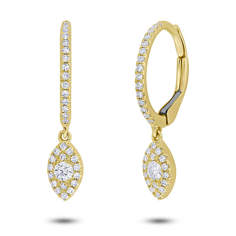 Diamond Shaped Dangling