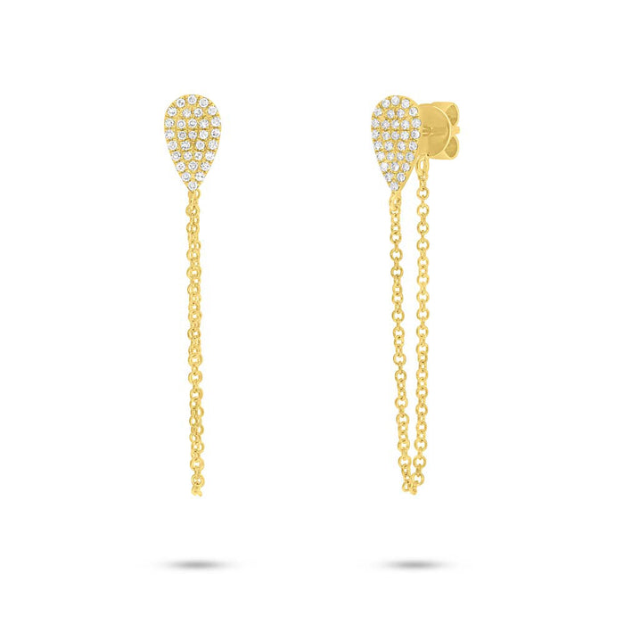 Teardrop Earring - Pasha Fine Jewelry