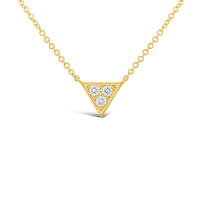 Triangle Necklace - Pasha Fine Jewelry