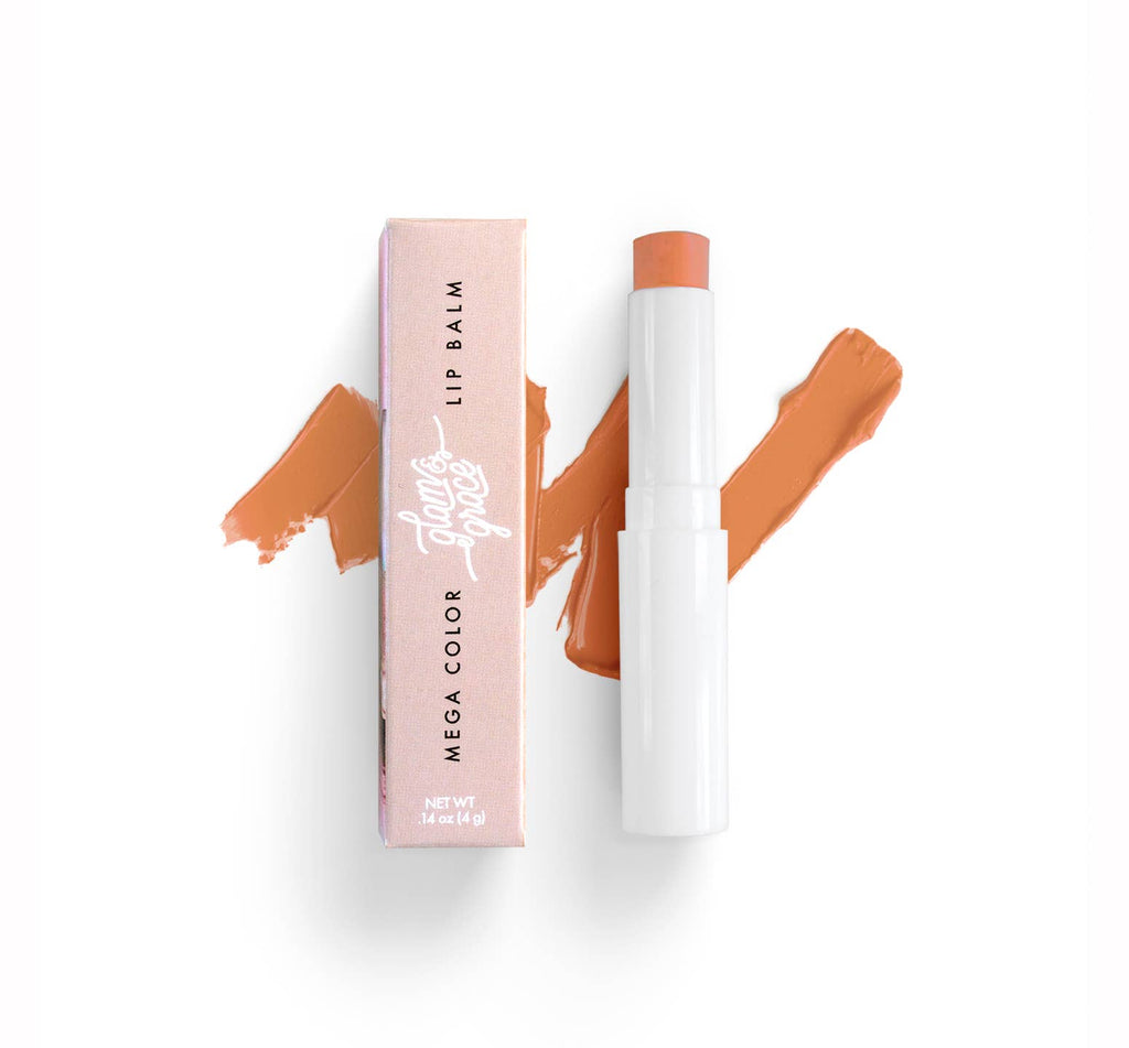 Mega Color Lip Balm - Peachy Nude