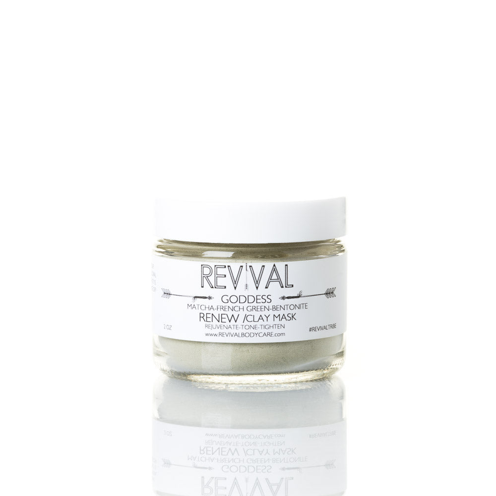 Goddess Clay Mask Renew