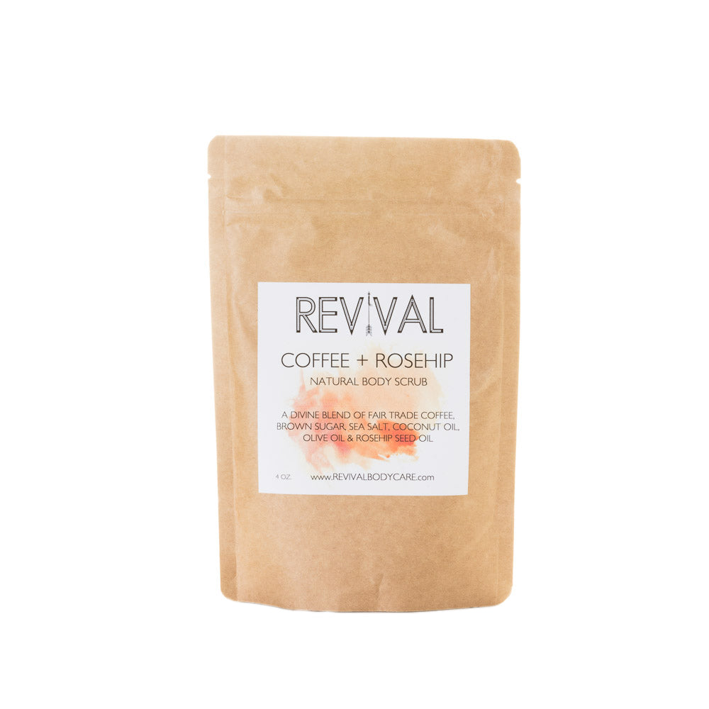 Revival Bodycare Coffee and Rosehip Body Scrub