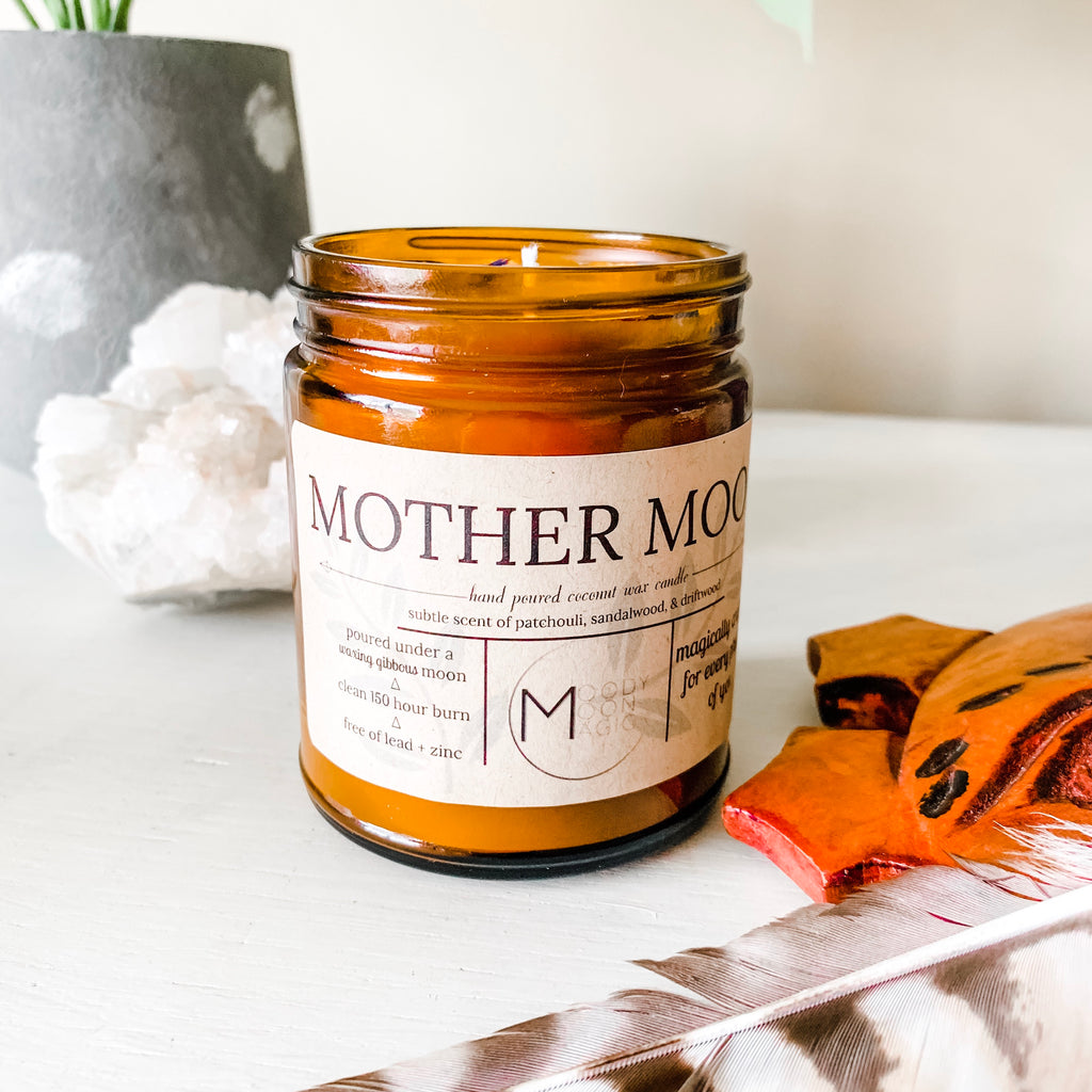 Mother Moon Candle