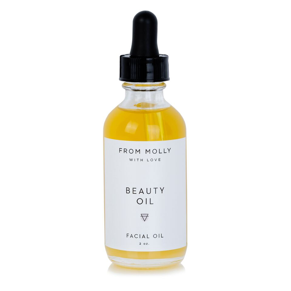 From Molly With Love Beauty Oil. Facial oil  that is reiki-charged and made with luxurious natural oils