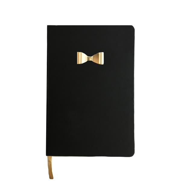 Journal With Gold Metal Bow