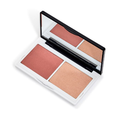 Lily Lolo Coralista Cheek Duo. Award-winning, vegan, cruelty free blush coral blush duo compact