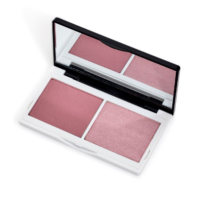 Lily Lolo Naked Pink Cheek Duo. Award Winning, Vegan, cruelty free pink blush duo compact
