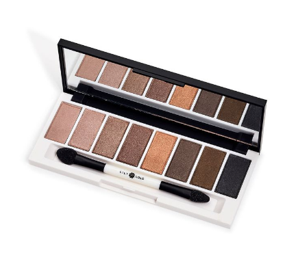 Lily Lolo Laid Bare Eye Palette - vegan, mineral, pressed powder eyeshadow palette in neutral shades