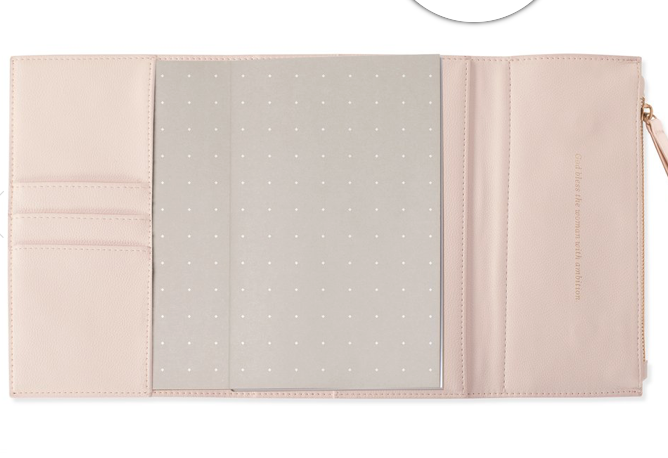 Blush Clutch Journal