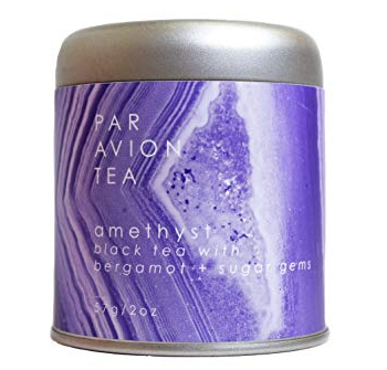 Par Avion Amethyst Tea - black tea with bergamot and sugar gems