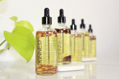 SKINNED store natural body oil product organic beauty cosmetic