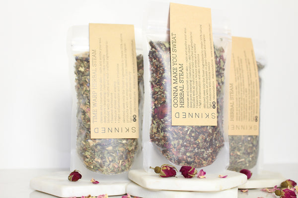Skinned Store Herbal Steam Packaging Three Gonna Make You Sweat